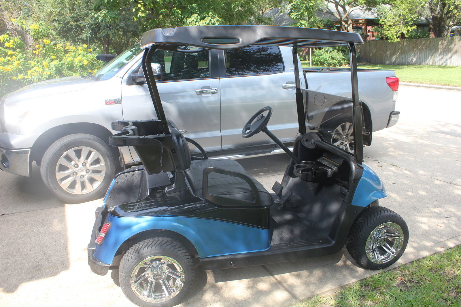 Electric Golf Cart Batteries >> 2009 EZGO RXV Electric Golf Cart for sale