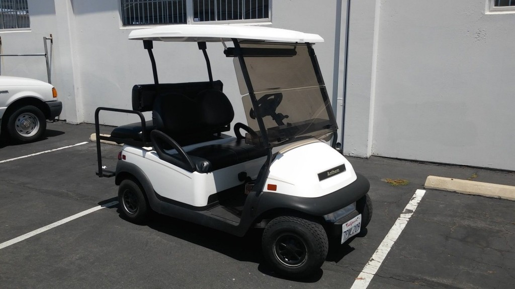 2010 Club Car Precedent 4 Passenger Golf Cart