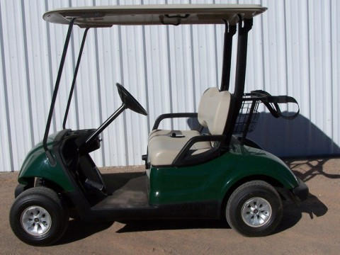 2010 Yamaha Drive Green Golf Cart 48 Volt for sale
