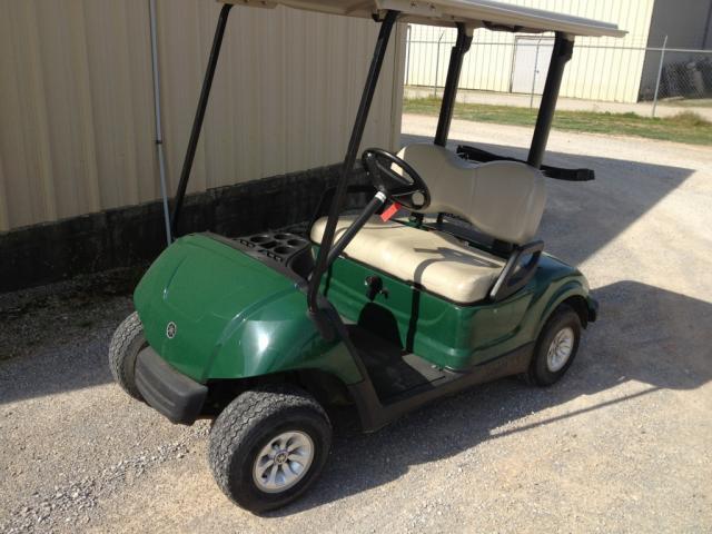 2010 Yamaha Drive Green Golf Cart 48 Volt