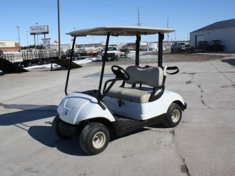 2010 Yamaha Drive White Golf Cart 48 Volt for sale