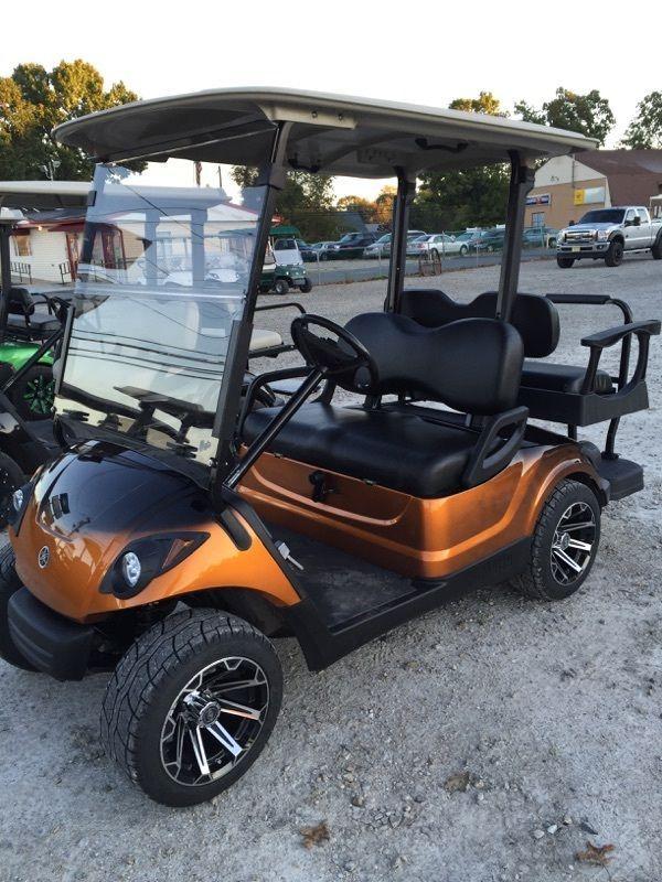 2011 Yamaha Drive Gas Golf Cart Custom