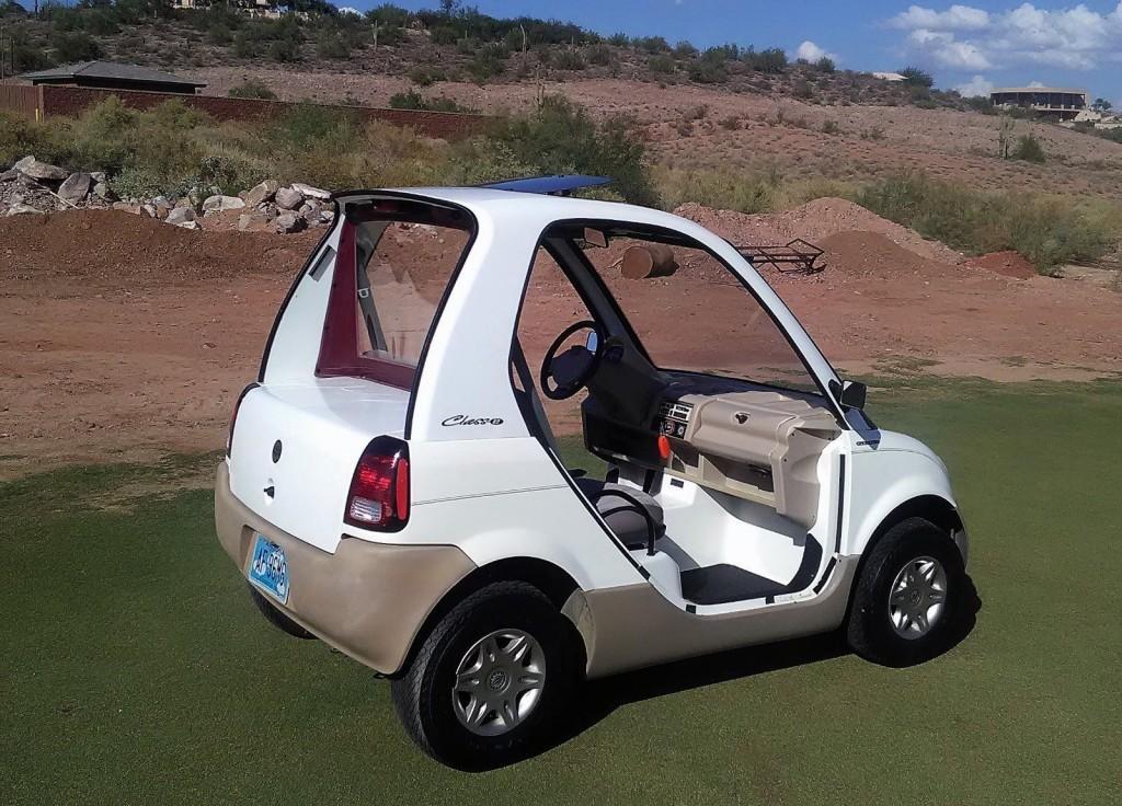 Bombardier Golf Cart NEV
