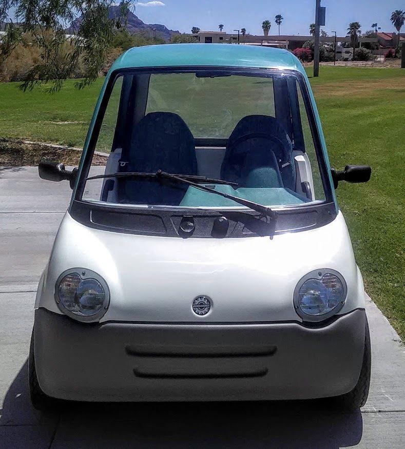 Bombardier NEV Golf Cart