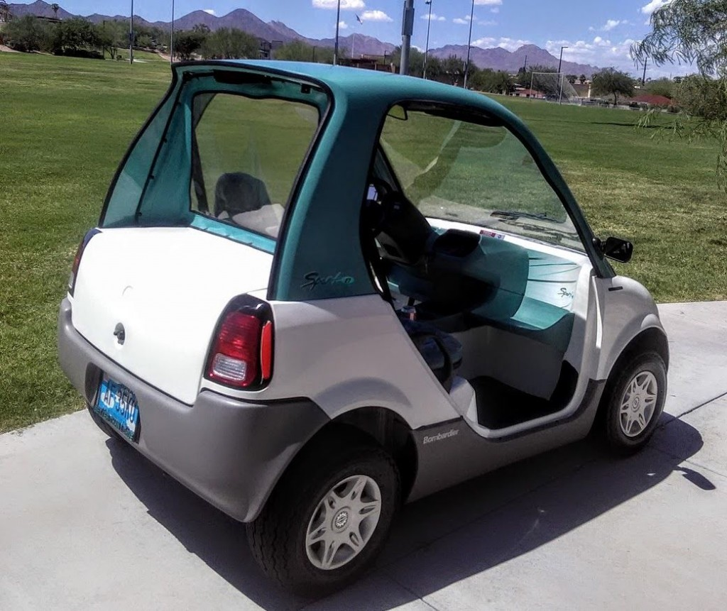 Bombardier NEV Golf Cart for sale