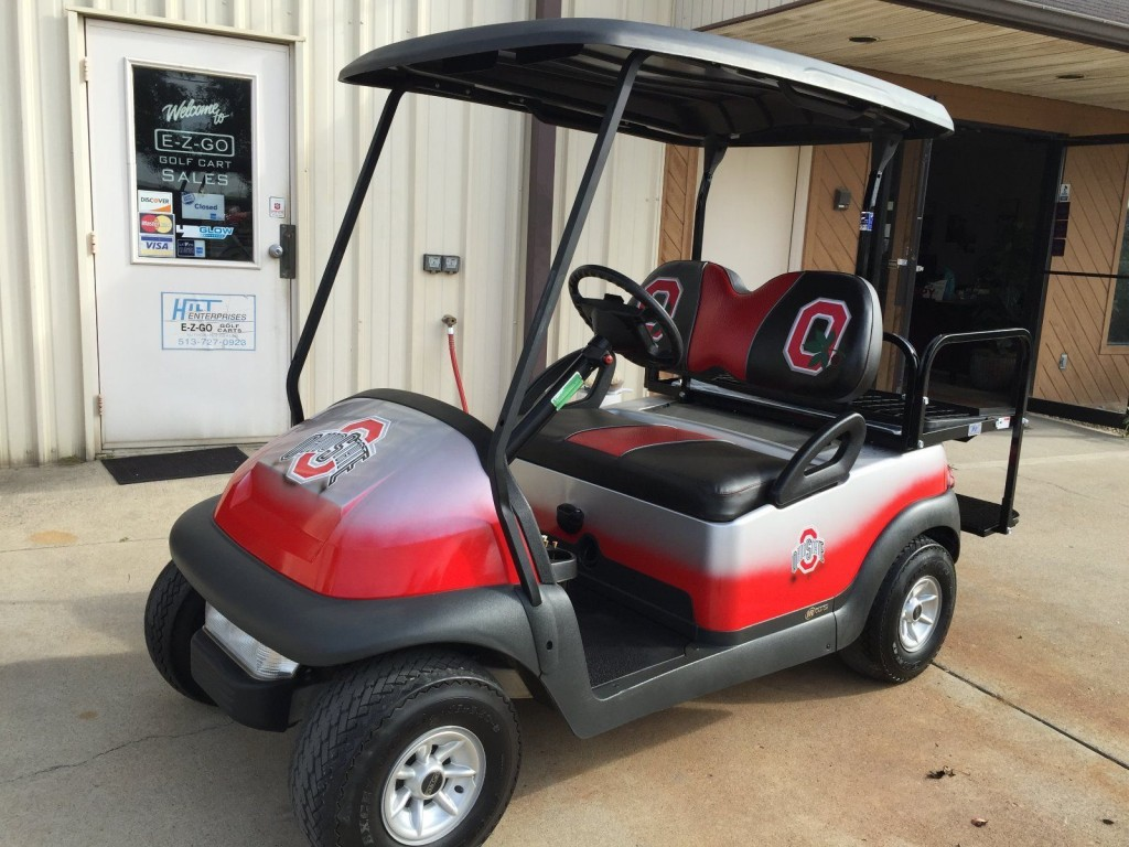Club Car Precedent Custom Golf Cart 48 Volt