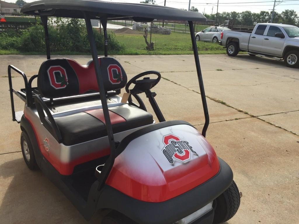 Club Car Precedent Custom Golf Cart 48 Volt