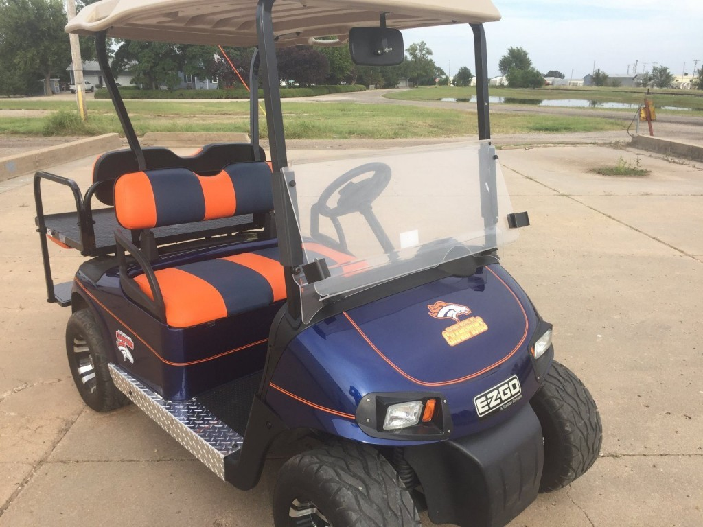 Custom EZGO RXV Golf Cart