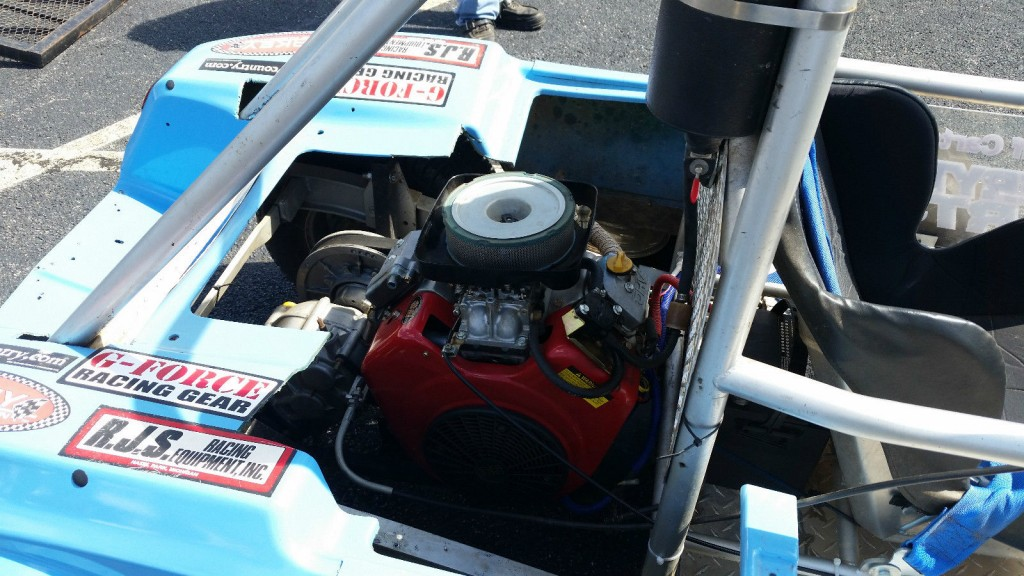 Drag Racing Club Car Golf Cart