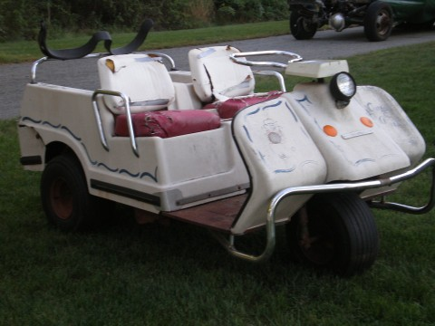 Harley Davidson Vintage Golf Cart for sale