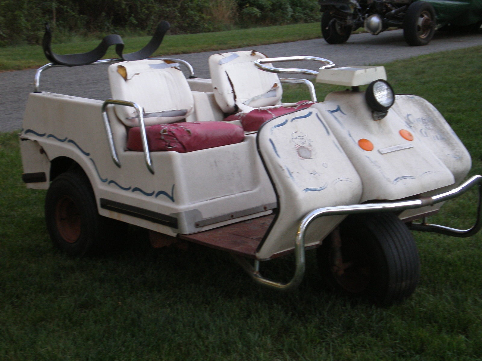 Harley Davidson Vintage Golf Cart For Sale