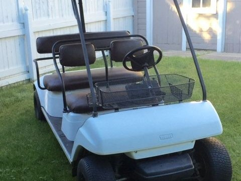 Yamaha 4 stroke Limo Golf Cart for sale