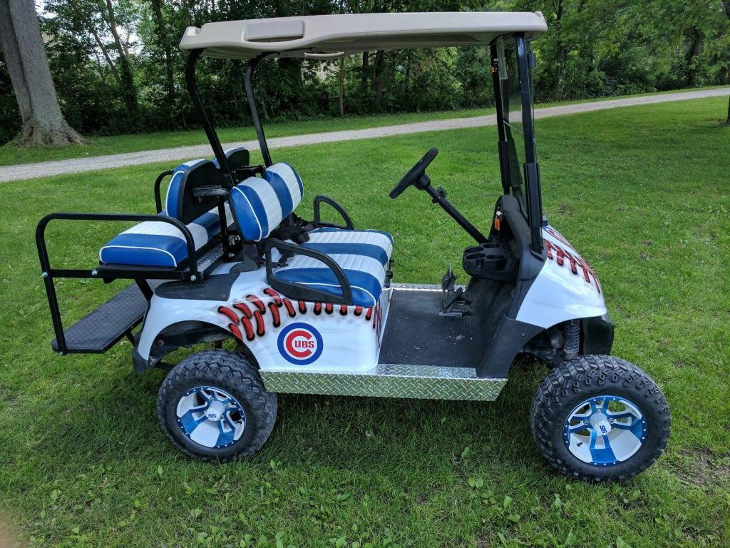 Gas Engine 2015 Ezgo Rxv Cubs Cart For Sale