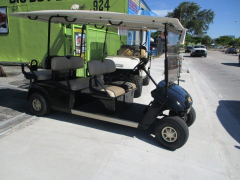 great runner 2013 EZ GO GOLF CART 48 VOLT 6 PASSENGER for sale