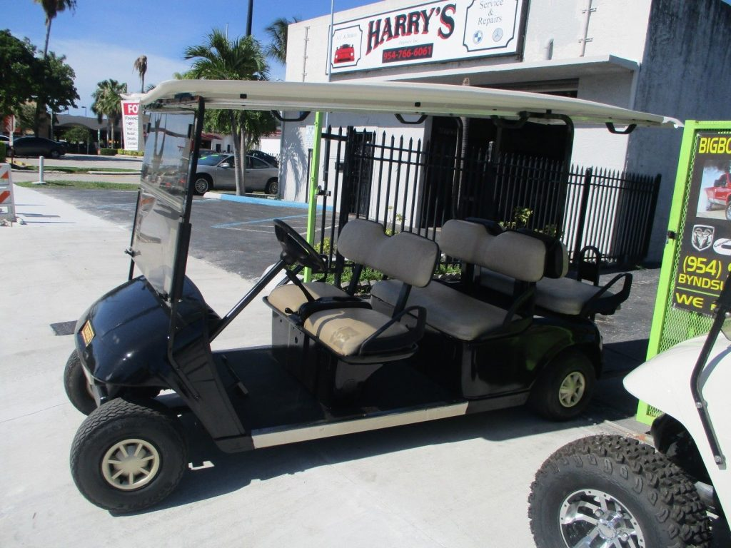 great runner 2013 EZ GO GOLF CART 48 VOLT 6 PASSENGER