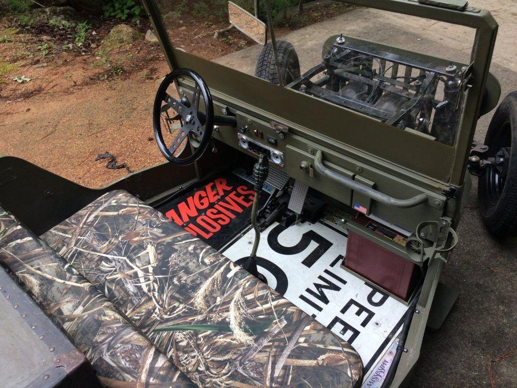 Polaris Gem For Sale >> Rodded Jeep Golf Cart for sale