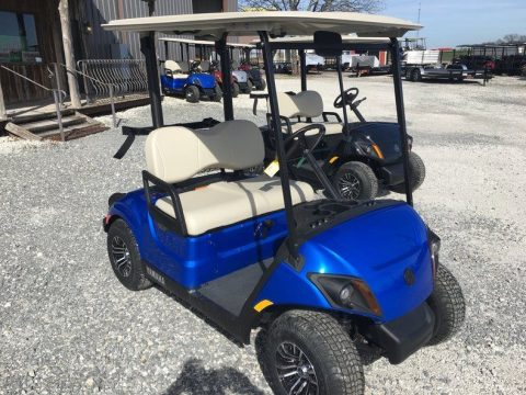 Single cylinder 2017 Yamaha Golf Cart for sale