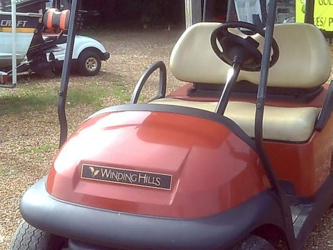SWEET 2012 CLUB CAR PRECENDENT 48 VOLT for sale