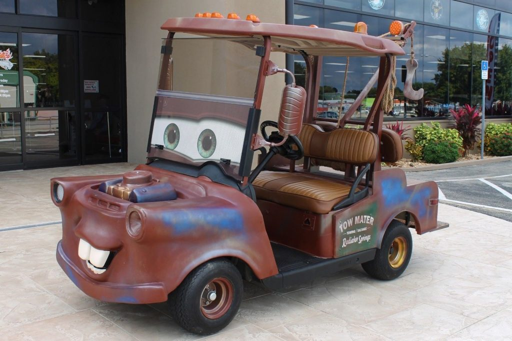 Tow Mater look-a-like 2013 EZ GO Tow Mater Golf Cart