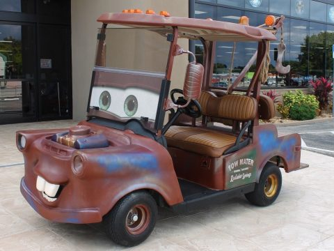 Tow Mater look-a-like 2013 EZ GO Tow Mater Golf Cart for sale