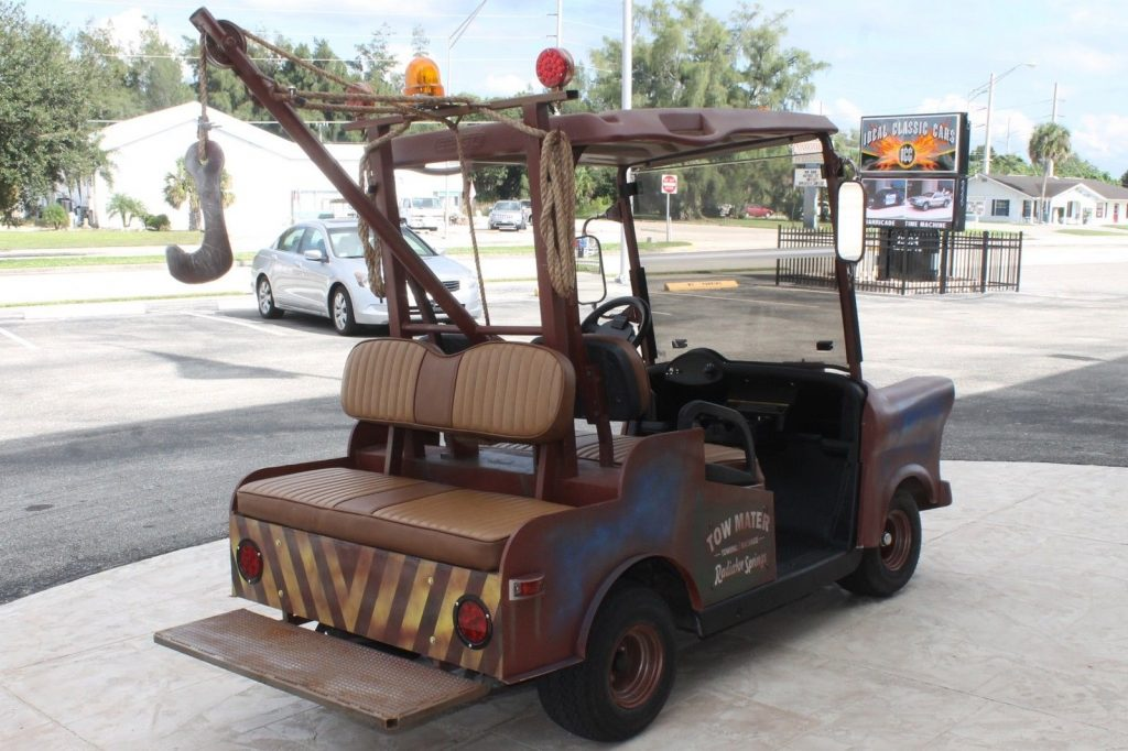 Tow Mater Look A Like 2013 Ez Go Tow Mater Golf Cart For Sale