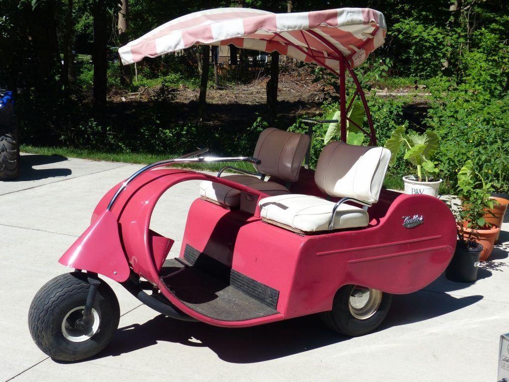 Vintage 1957 Jato Walker Golf Cart