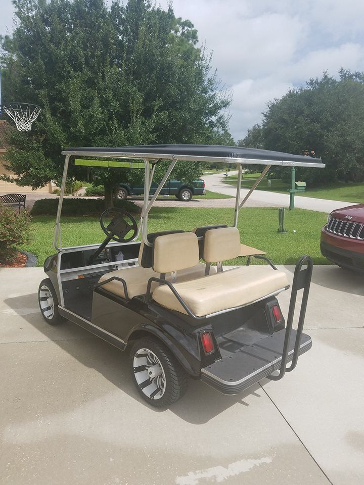 Custom Club Car Ds Golf Cart For Sale