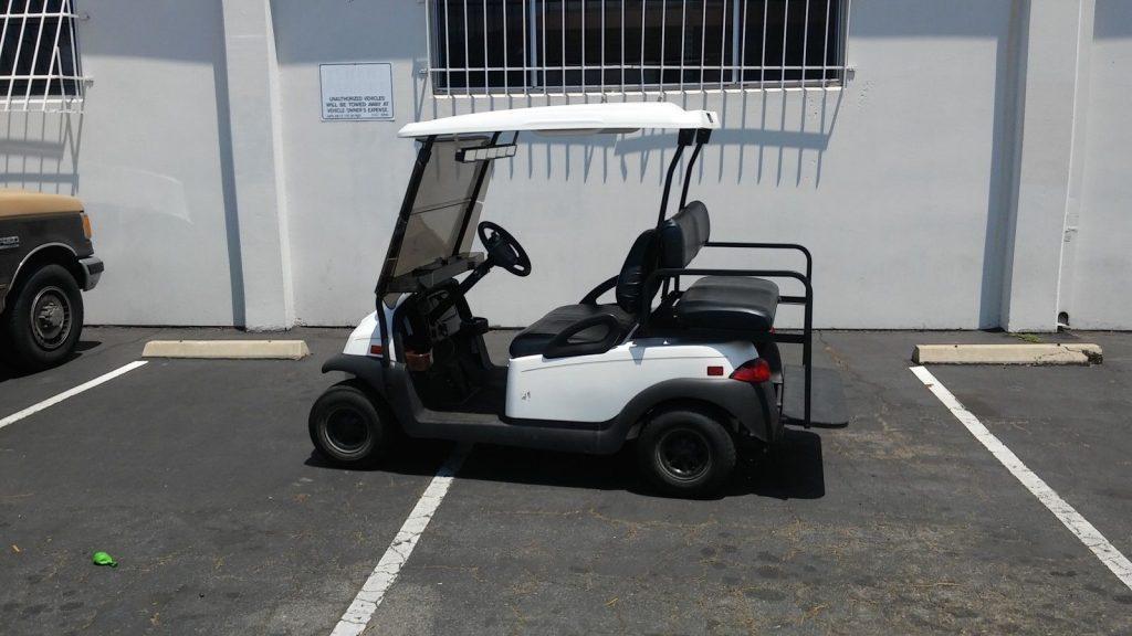custom dash 2010 Club Car Precedent 4 Passenger golf cart