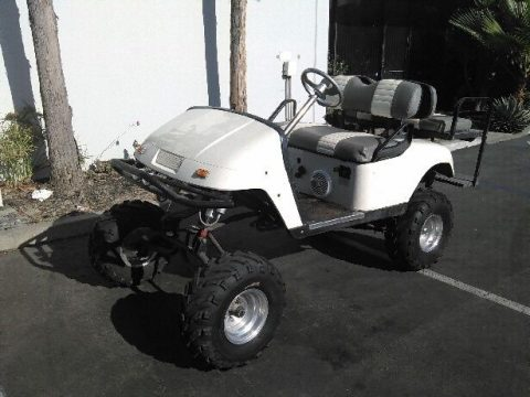 custom lifted ezgo golf cart for sale