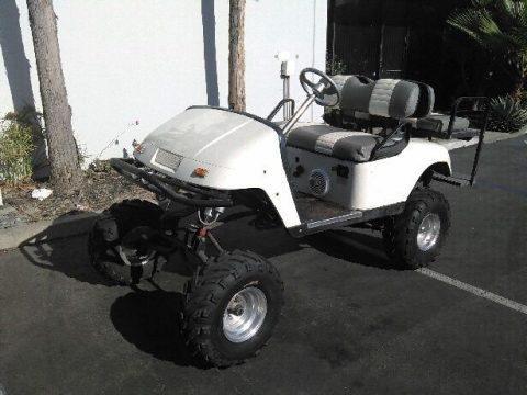 custom lifted ezgo golf cart for sale