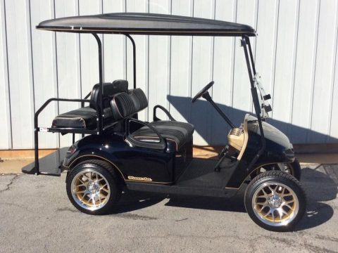 custom paint Smokey and the Bandit Golf Cart for sale