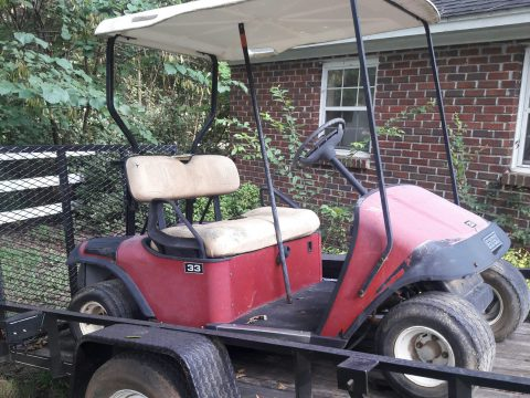 dead batteries E Z GO golf cart for sale