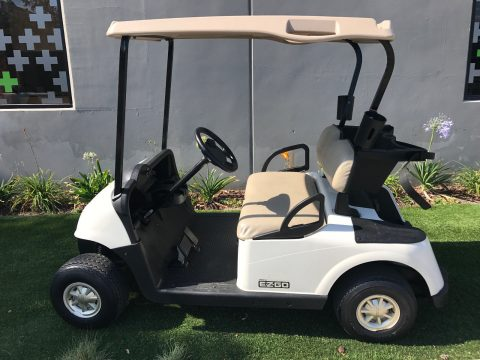 drives good 2010 EZGO RXV 2 Passenger seat golf cart for sale