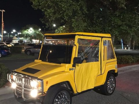 every upgrade offered Hummer golf cart for sale