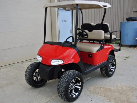 lifted 2008 Custom Ez Go golf cart for sale