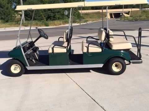New batteries 2006 Club Car Villager 6 passenger golf cart for sale