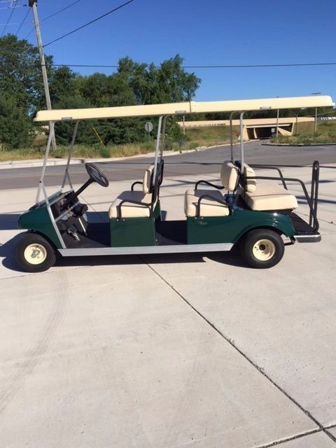 New batteries 2006 Club Car Villager 6 passenger golf cart