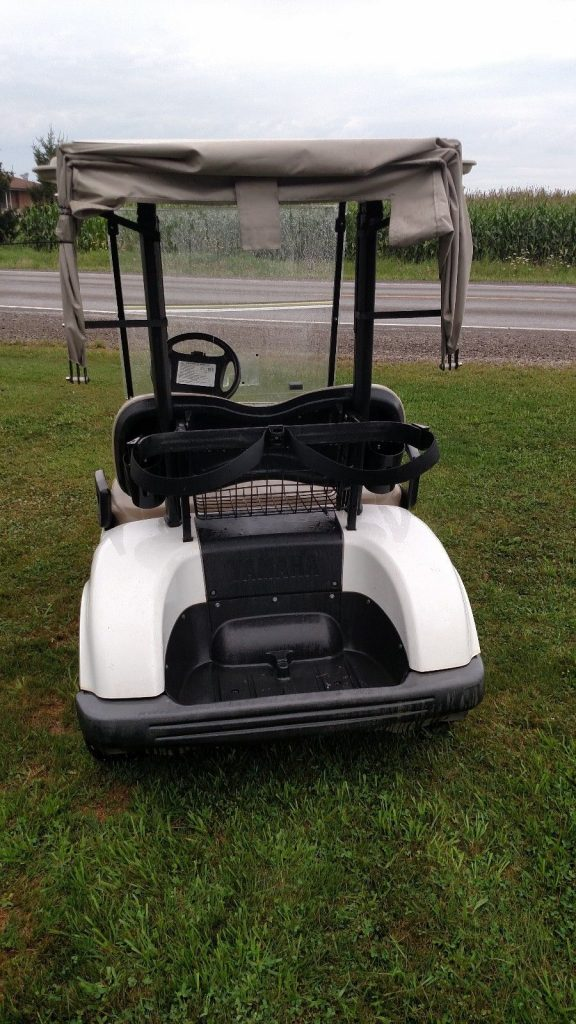 Pretty good shape 2011 yamaha drive g29 electric golf cart for Motorized carts for sale