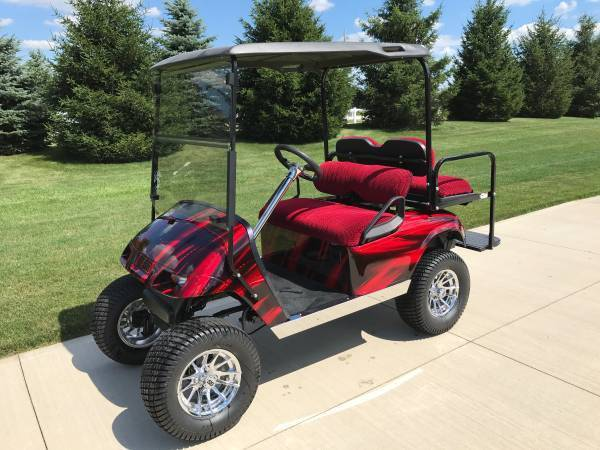 Custom EZ GO Electric Golf Cart for sale