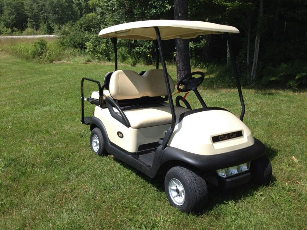 electric 2014 Club Car Precedent golf cart