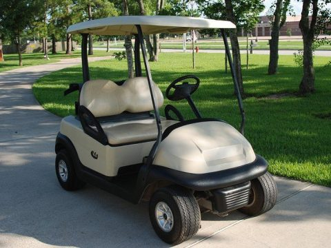 electric powered 2014 Club Car Precedent golf cart for sale