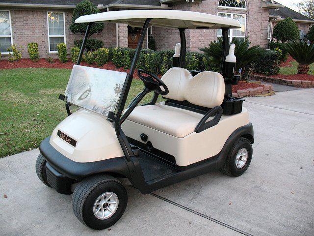 electric powered 2014 Club Car Precedent golf cart