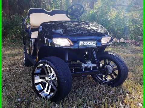 lifted 2017 EZGO Valor golf cart for sale