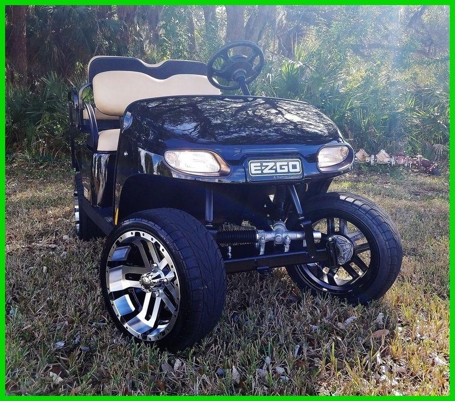 Lifted 2017 EZGO Valor Golf Cart For Sale