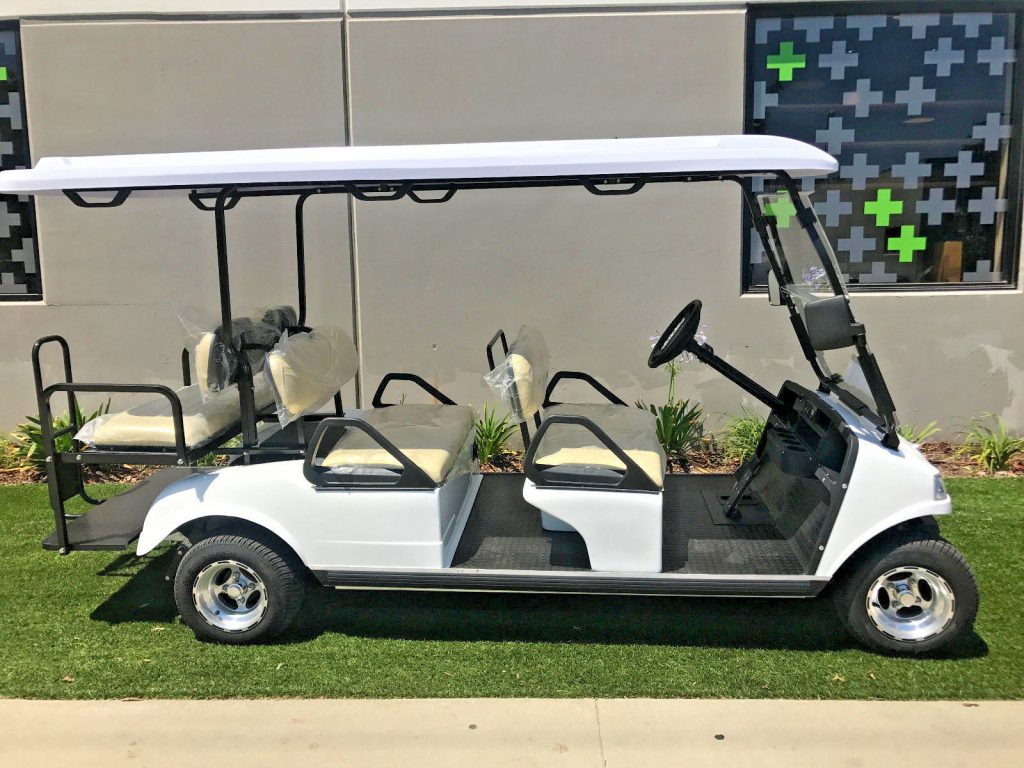 New 2017 White Evolution Golf Cart Carrier