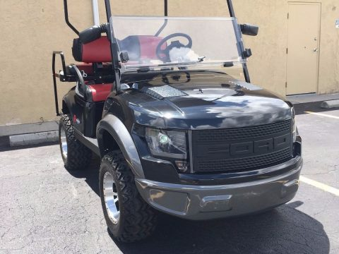 official 2015 Ford Raptor SVT Golf Cart for sale