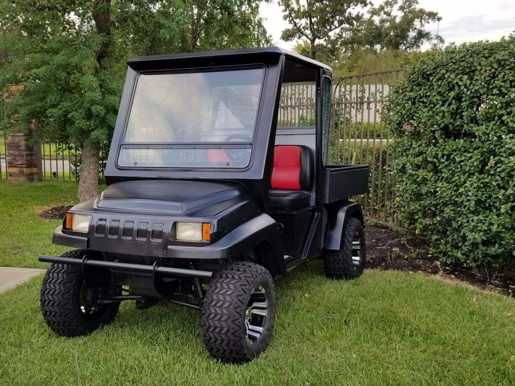 custom cab 2008 Club Car Carryall 272 golf cart