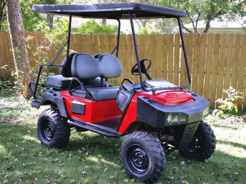 gas engined 2008 Club Car XRT810 golf cart for sale
