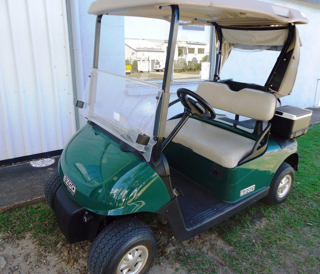 very good condition 2010 EZ GO RXV golf cart
