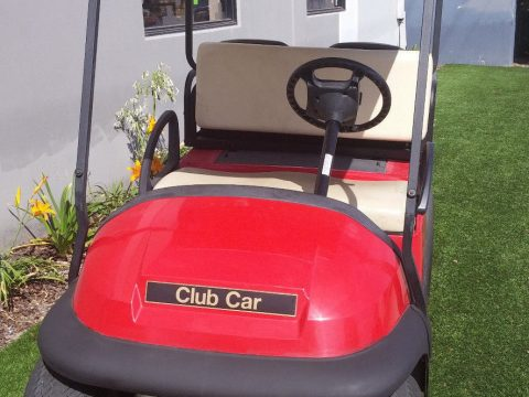 very nice 2008 Club Car Precedent 4 Passenger Golf Cart 48 volt for sale